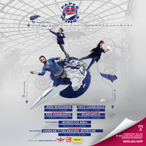 Red Bull Paper Wings competition in Morocco Mall