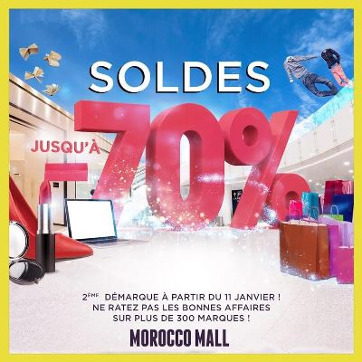 Les soldes continuent au Morocco Mall !!