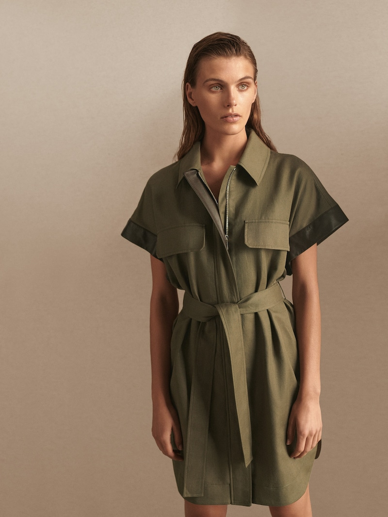Le trench robe chemise