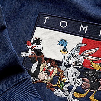 La collab TOMMY JEANS X LOONEY TUNES