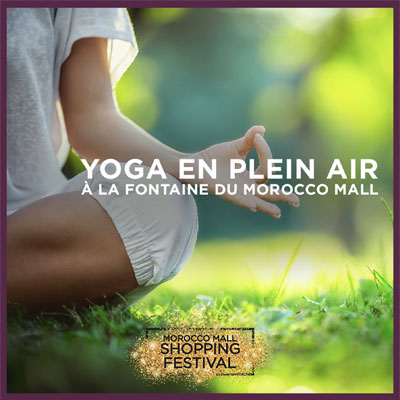 Yoga en plein air tous les Week End